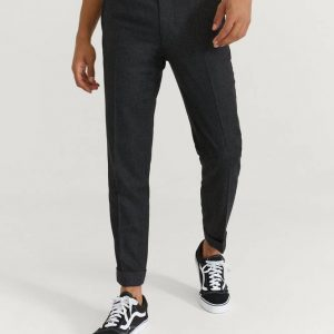 Housut M. Terry Flannel Trouser