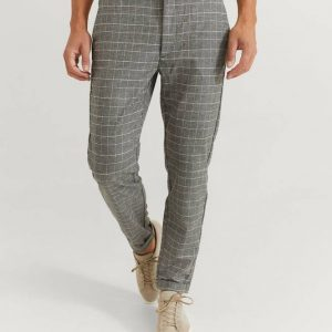 Housut Rome Soft Check Pant