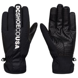 DC Salute Gloves musta