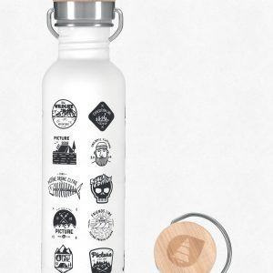 Picture Organic Hampton Bottle, White