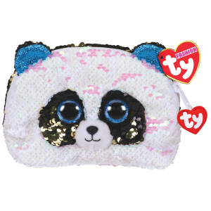 TY Plush - Sequin Accessory Bag - Bamboo the Panda (TY95825)