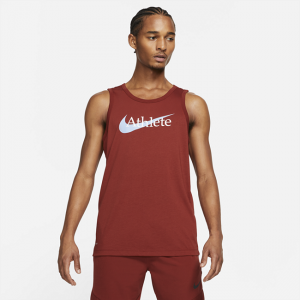 Nike Dri-FIT Men's Swoosh Training Tank - Red