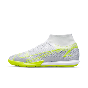 Nike Mercurial Superfly 8 Academy IC Indoor Court Football Shoe - White