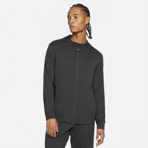 Nike Yoga Dri-FIT Men's Full-Zip Jacket - Black