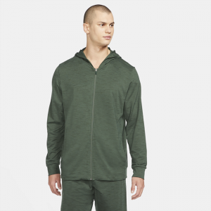 Nike Yoga Dri-FIT Men's Full-Zip Jacket - Green
