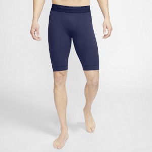Nike Yoga Dri-FIT Men's Infinalon Shorts - Blue