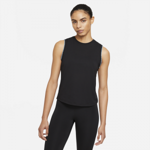 Nike Yoga Women's Crochet-Edge Tank - Black