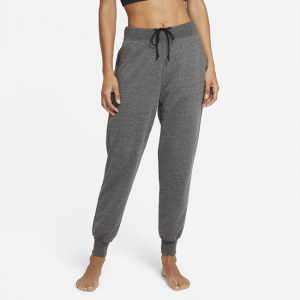 Nike Yoga Women's French Terry 7/8 Joggers - Black