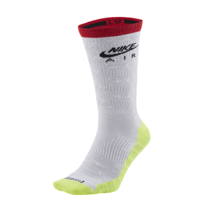 SNKR Sox Crew Socks - White